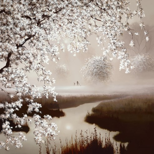 Blossoming Dreams by John Waterhouse - Limited Edition on Paper